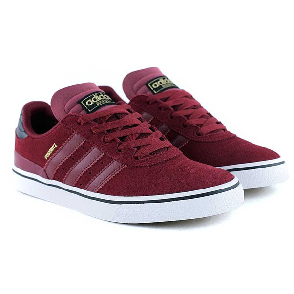Adidas Skateboarding Busenitz ADV Colligiate Burgundy Black White Skate Shoes