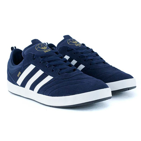 Adidas Skateboarding Suciu ADV Collegiate Navy Feather White Skate Shoes