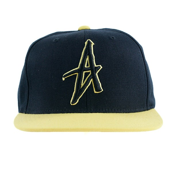 Altamont Decades Starter Black/Yellow Snapback Hat One Size