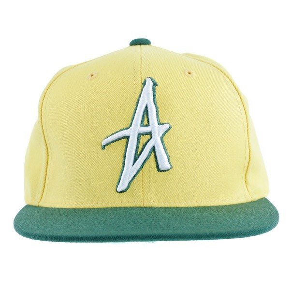 Altamont Decades Starter Yellow Snapback Cap One Size