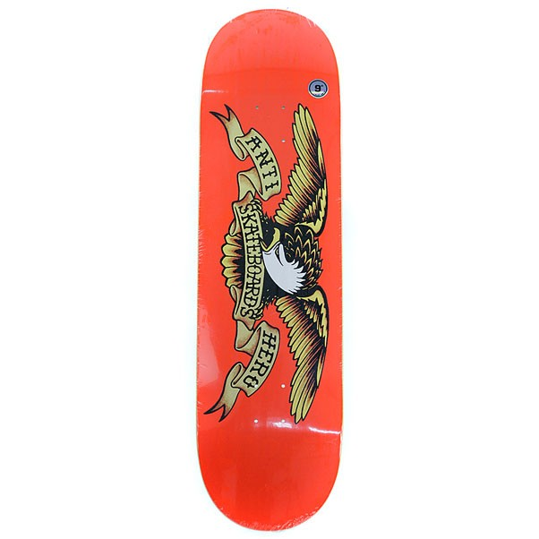 Anti Hero Skateboards Classic Eagle Skateboard Deck 9""