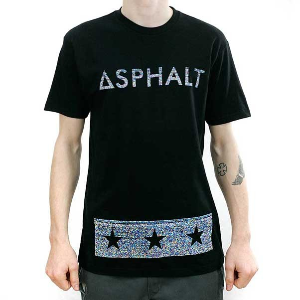 Asphalt Yacht Club Riot Bar T-Shirt Black