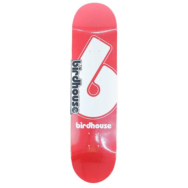 Birdhouse Skateboards Logo Deck Giant B Skateboard Deck Red 8""