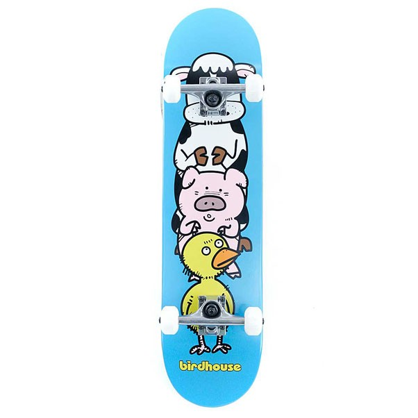 Birdhouse Skateboards Stage 1 Animals Factory Complete Skateboard Blue 7.75""