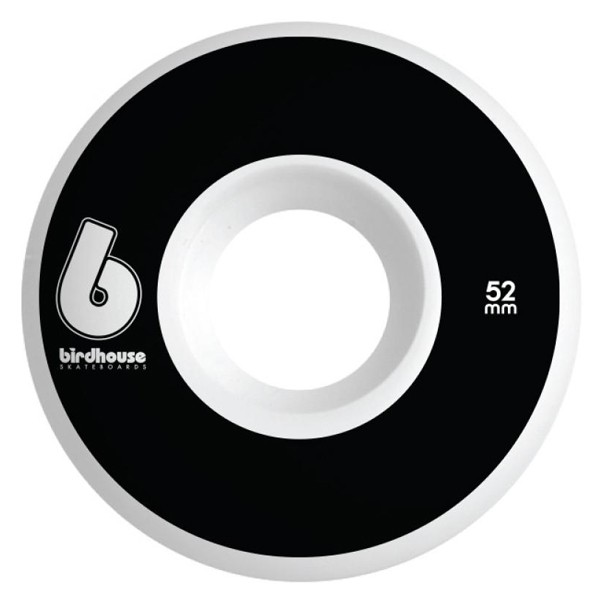 Birdhouse Skateboards B Logo Skateboard Wheels Black 52mm