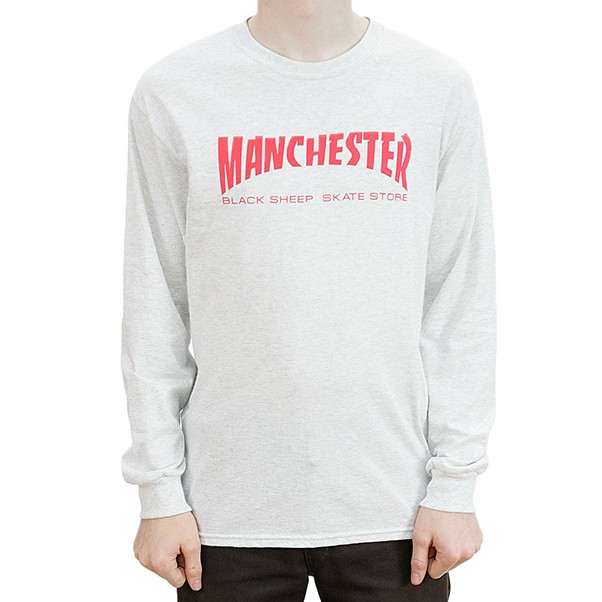 Black Sheep Manchester Long Sleeved Ash Grey