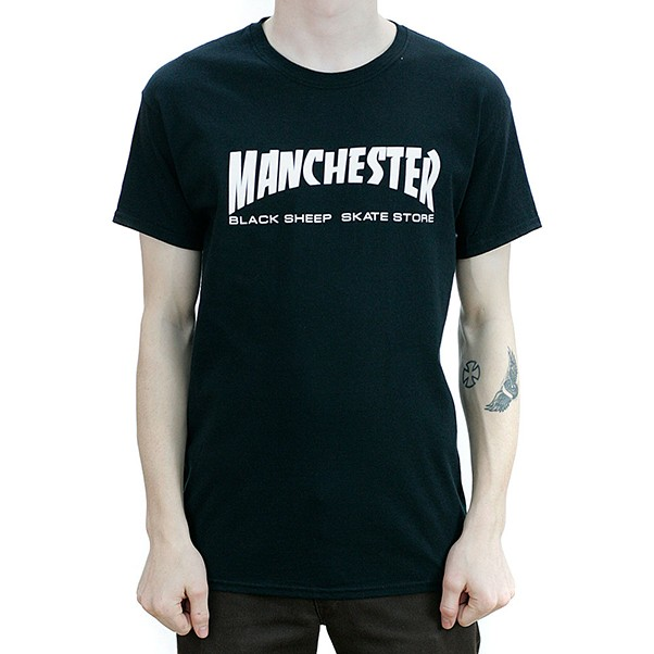 Black Sheep Manchester T-Shirt Black