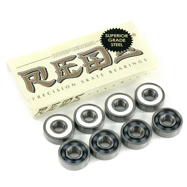 Bones Ceramic Reds Skateboard Bearings