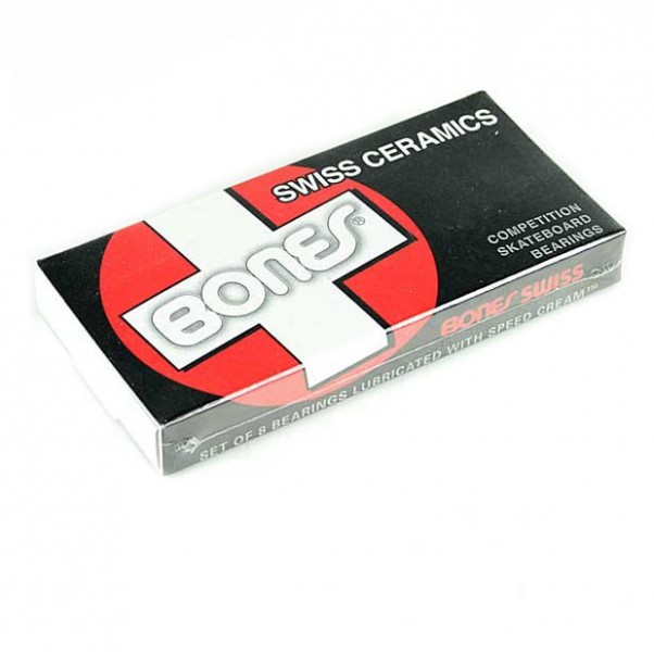 Bones Swiss Ceramic Skateboard Bearings