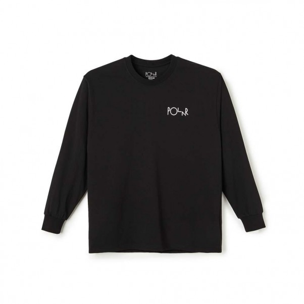 Polar Skate Co ACAB Fill Logo Longsleeve T-Shirt Black
