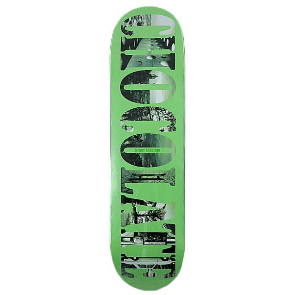 """Chocolate Skateboard Deck Kenny Anderson 8.125"""" Type Life Series"""
