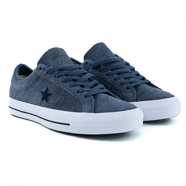 Converse Cons One Star CC Sharkskin Grey Atomic Teal Skate Shoes