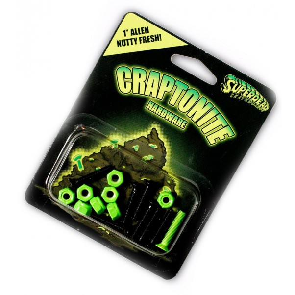 "Superdead Craptonite Bolts 1"" Allen"