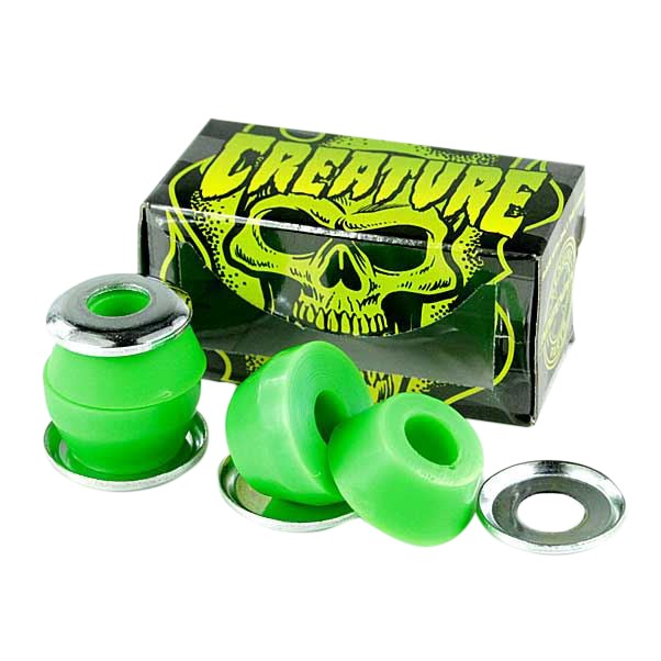 Creature CSFU Skateboard Bushings Green Medium 90a