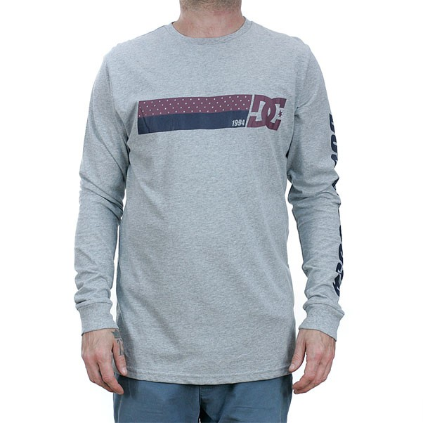 DC Shoes Disaster T-Shirt Grey Heather