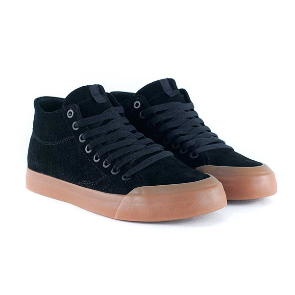DC Shoes Evan Smith Hi Zero Black Gum Skate Shoes
