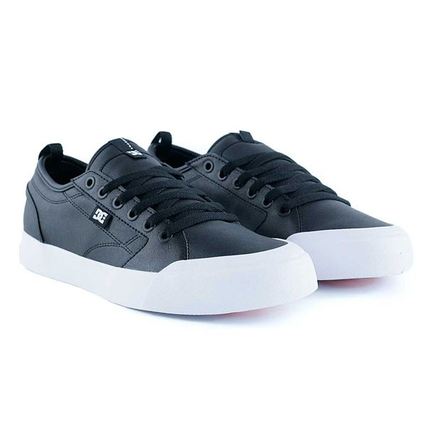 Dc Shoes Evan Smith SE Black Black White Skate Shoes