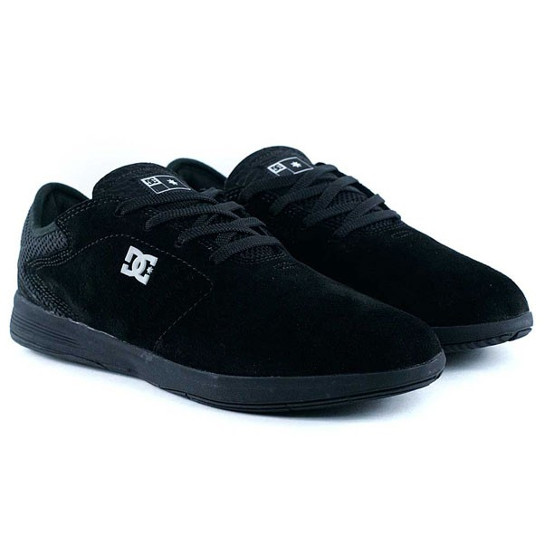 DC Shoes New Jack S Black Gold Skate Shoes