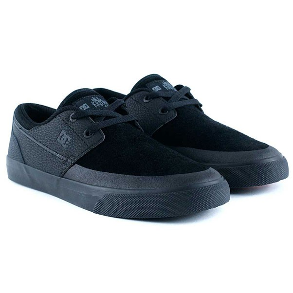 Dc Shoes Wes Kremer 2 S Black Black Black Skate Shoes