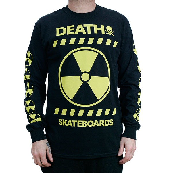 Death Skateboards RAD Long Sleeved T-Shirt Black