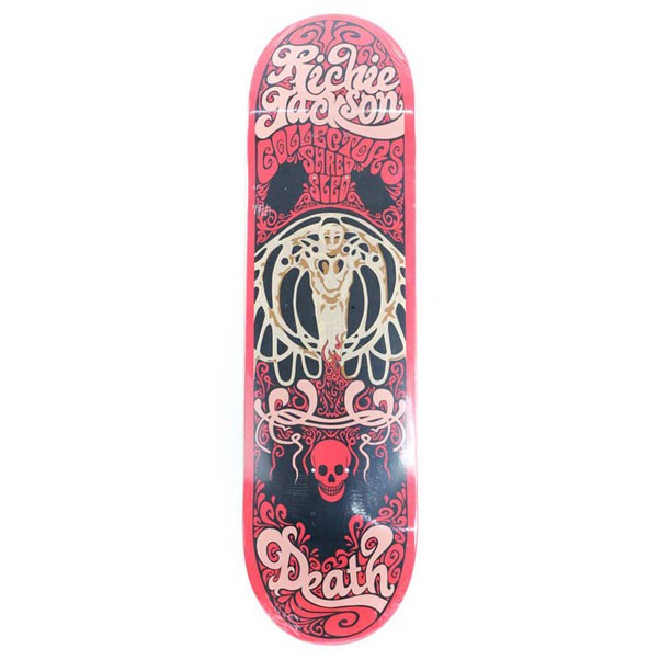 Death Skateboards Richie Jackson Collector Skateboard Deck Multi 8.5""
