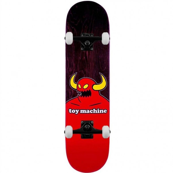 Toy Machine Monster Complete Skateboard Multi 8.38""
