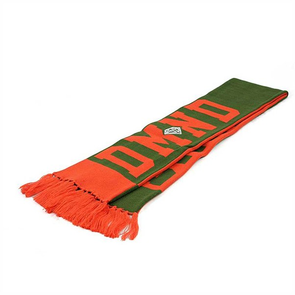 Diamond DMND Scarf Green/Orange