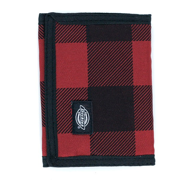 Dickies Cresent Bay Wallet Red