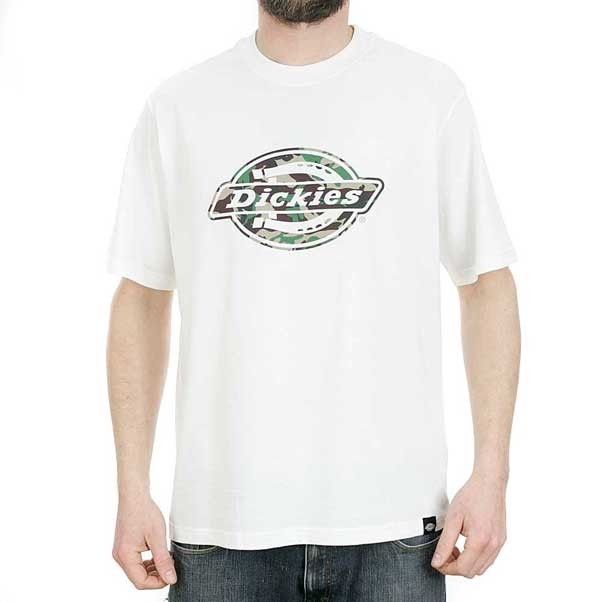 Dickies Horse Shoe One Colour T-Shirt White