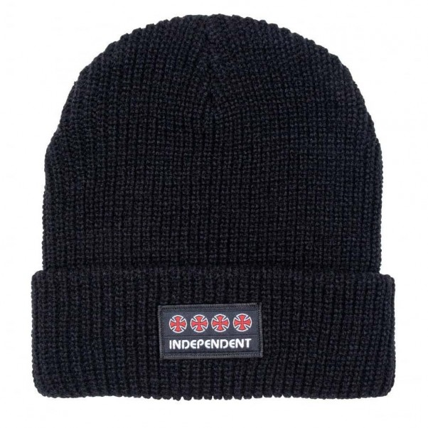 Independent Trucks Co Manner Beanie Hat Black