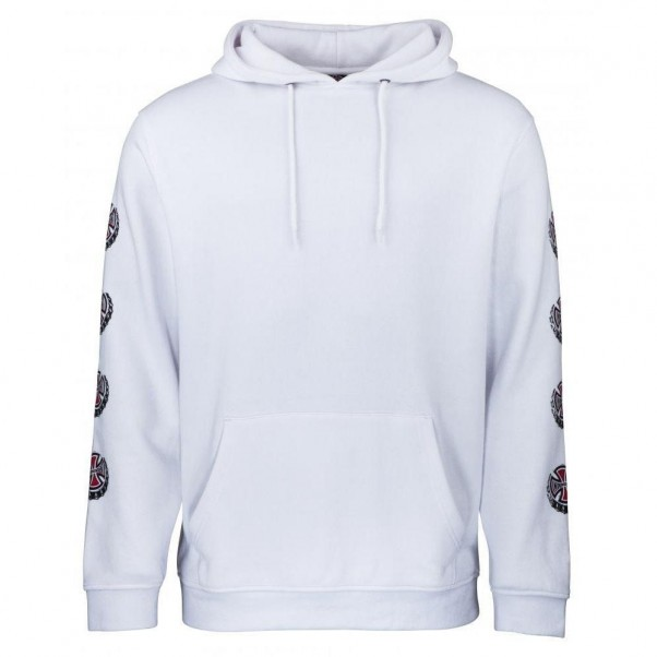 Independent Hood Suds Hooded Sweatshirt White