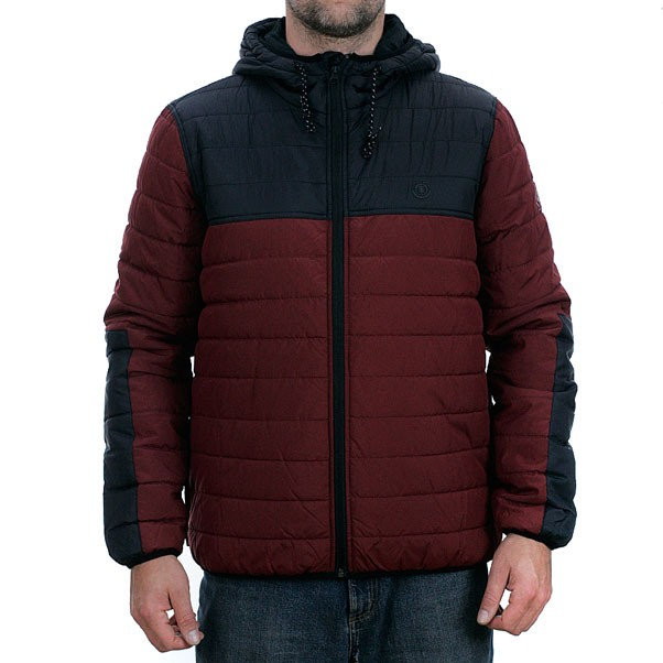 Element Alder Puff TW Jacket Syrah Heather