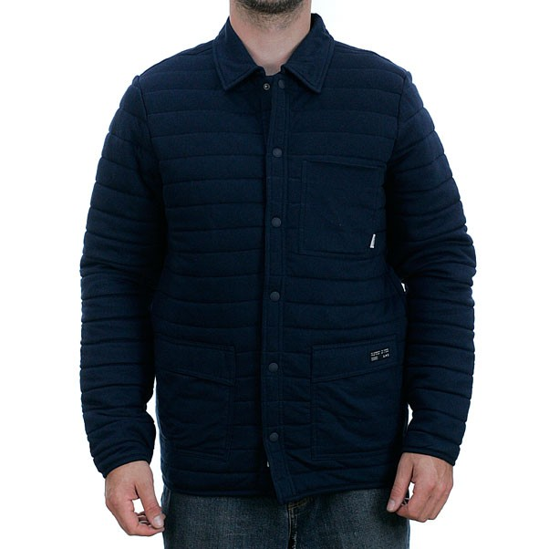 Element Expedit Long Sleeved Shirt Eclipse Navy