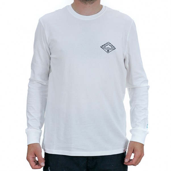 Element Layer Long Sleeved T-Shirt Optic White