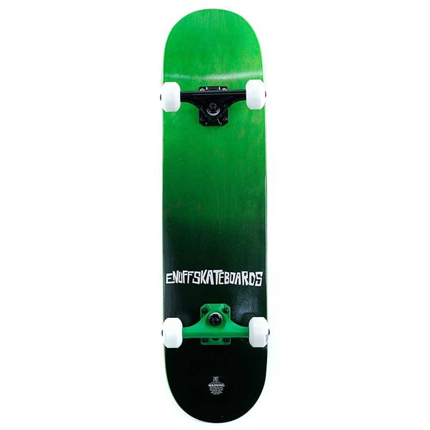 Enuff Skateboards Fade Factory Complete Skateboard Green 7.75""