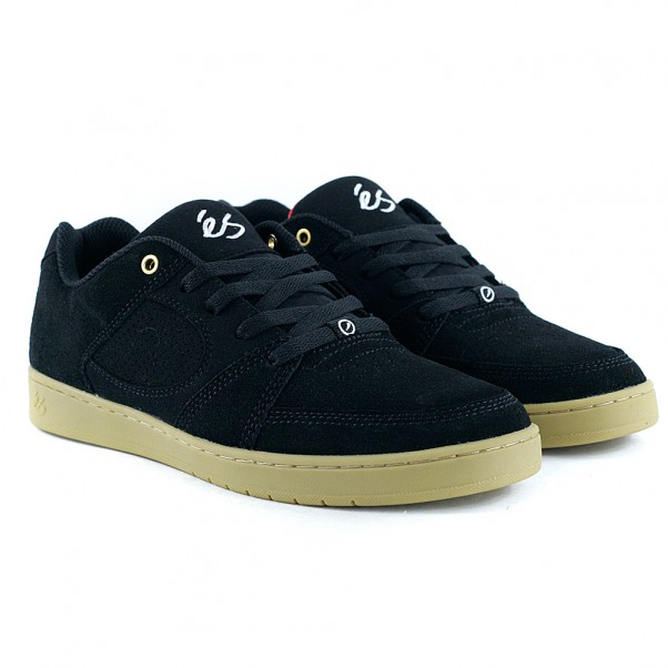 Es Footwear Accel Slim Black Gum