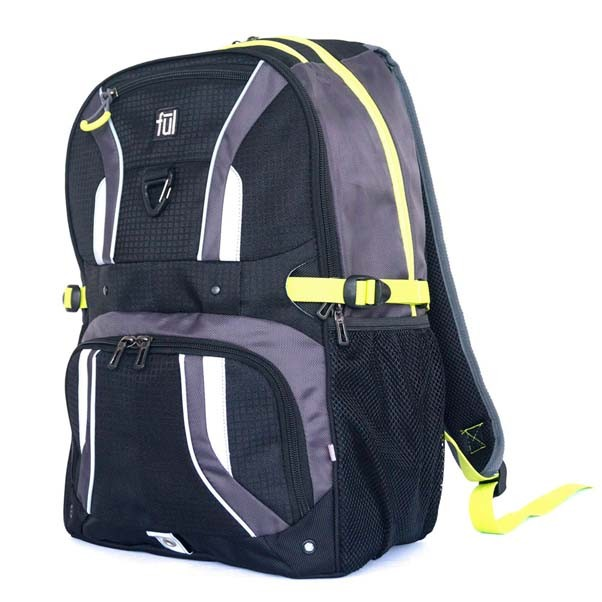 FUL Backpack Momentor Bag Black Grey