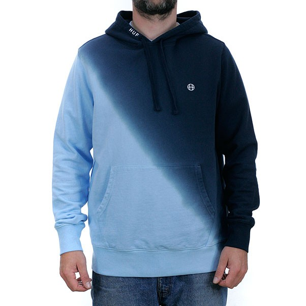 Huf Arnold Pullover Hooded Sweatshirt Navy