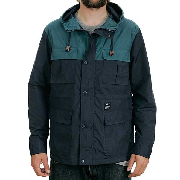 Huf The Summit Jacket Coat Navy