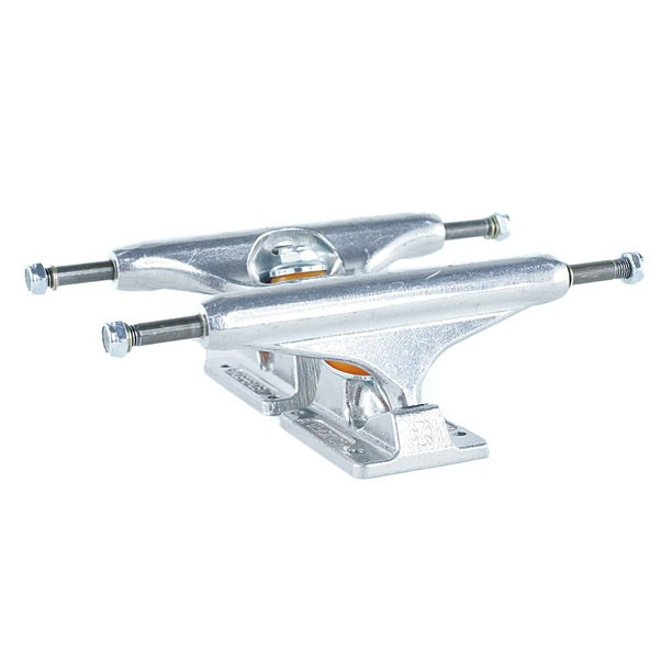 Independent Stage 11 Raw Polished Skateboard Trucks Silver 144mm
