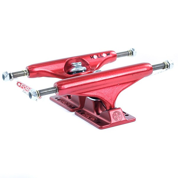 Independent Hollow Forged Stage 11 Skateboard Trucks Ano Red 139mm