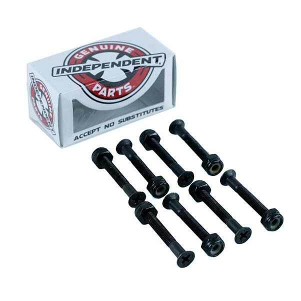 Indy Independent Skateboard Bolts Phillips Black 1.5""
