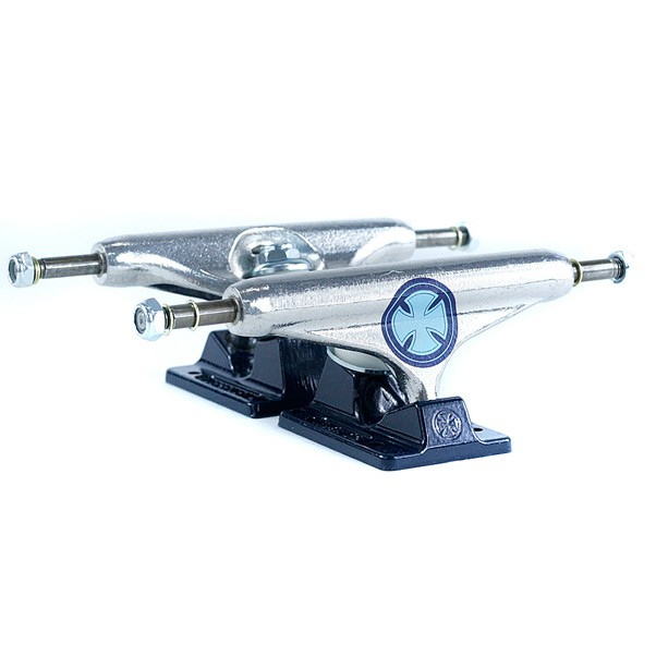 Independent Stage 11 Strike Cross Skateboard Trucks Polish Navy 139mm