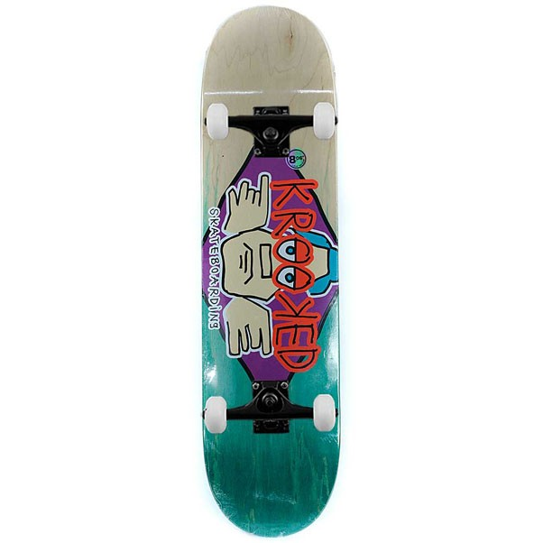 Krooked Skateboards Arketype Fade Complete Skateboard 8.06""