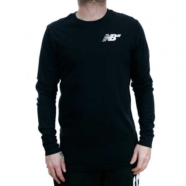 New Balance Numeric NB# Long Sleeved T-Shirt Black