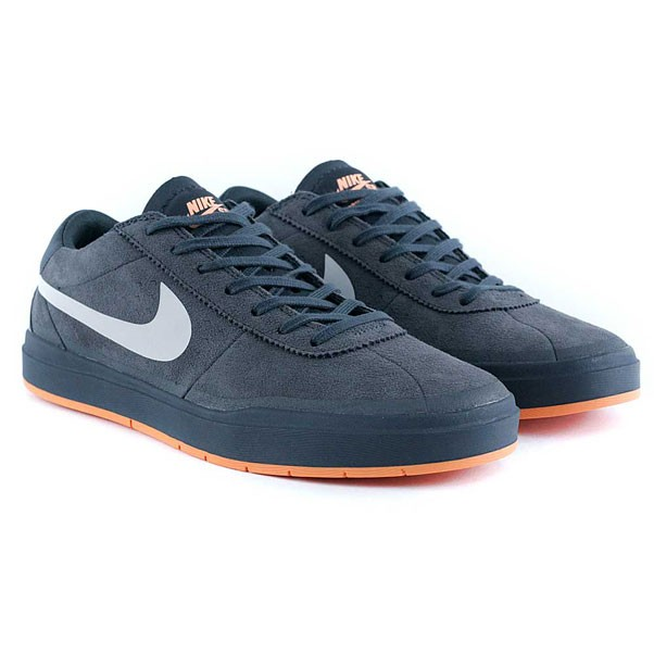 Nike Sb Bruin Hyperfeel Xt Anthracite White Clay Orange Skate Shoes