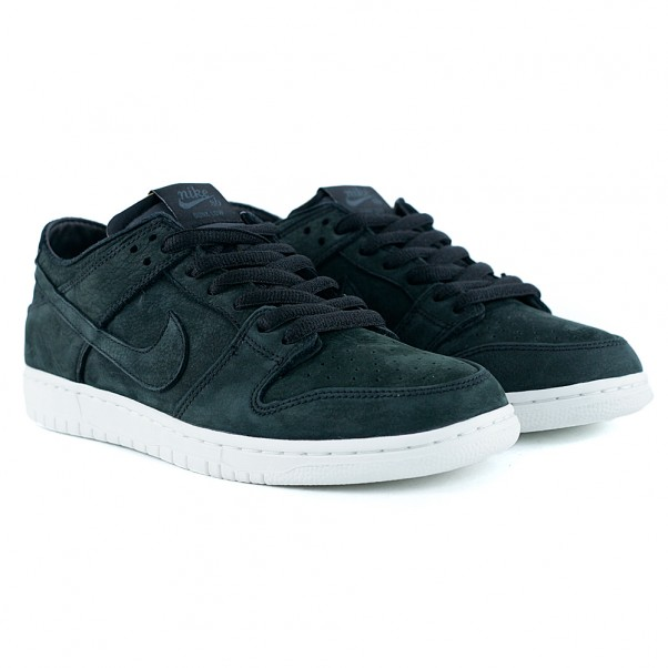 new product b50fa 35b58 Nike Sb Dunk Low Pro Deconstructed Black Summit White Anthracite Skate Shoes