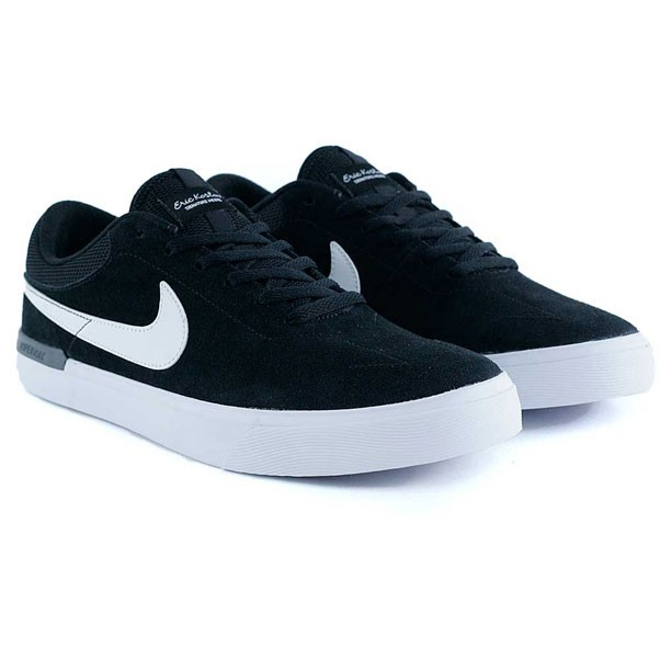 Nike Sb Koston Hypervulc Black White Dark Grey Skate Shoes