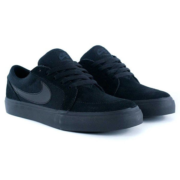 Nike Sb Satire II Black Black Anthracite Skate Shoes