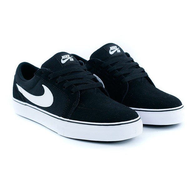 Nike Sb Satire II Black White Skate Shoes